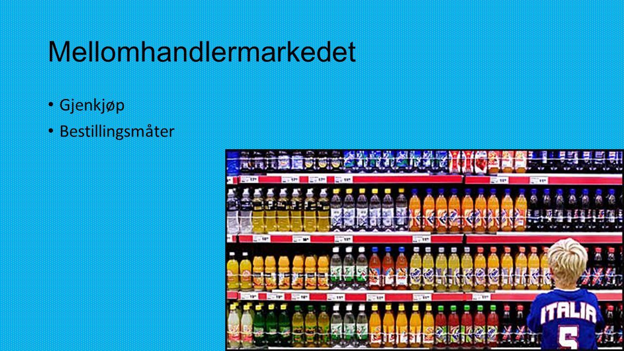 Mellomhandlermarkedet
