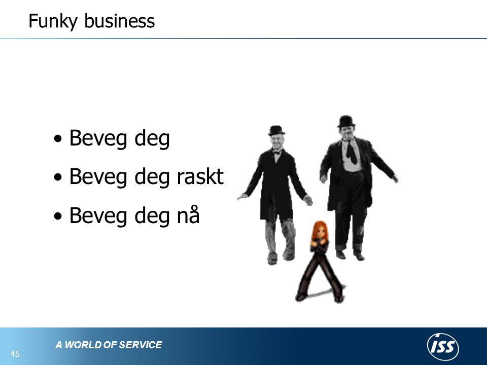 Funky business Beveg deg Beveg deg raskt Beveg deg nå