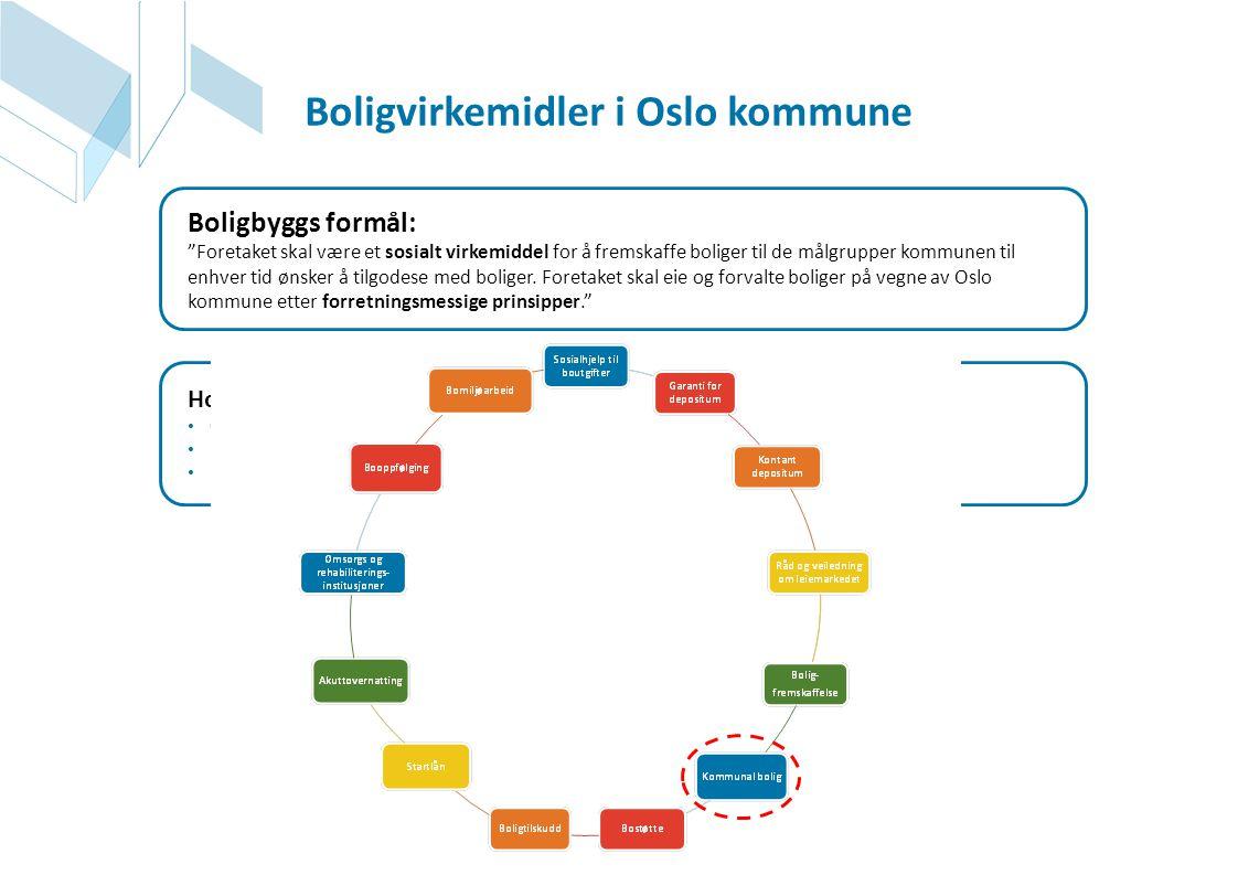 Boligvirkemidler i Oslo kommune