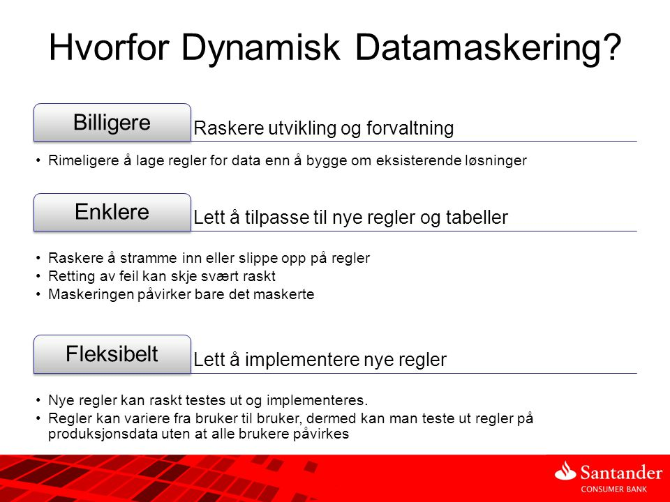 Hvorfor Dynamisk Datamaskering