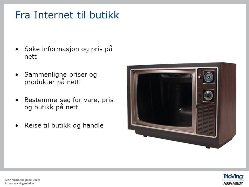 Fra Internet til butikk