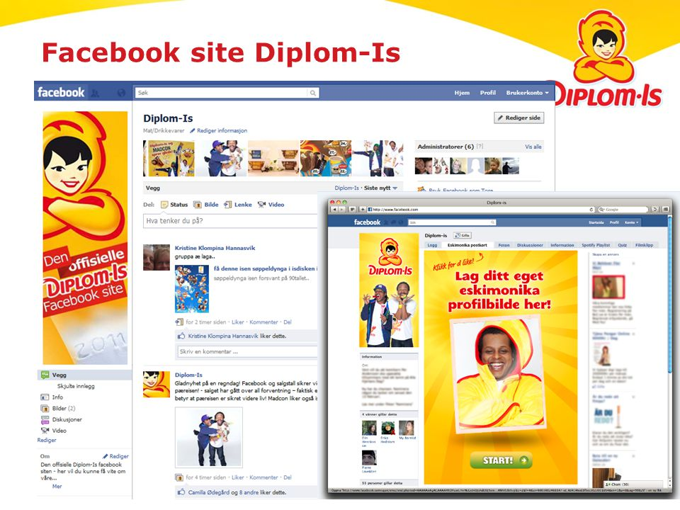Facebook site Diplom-Is