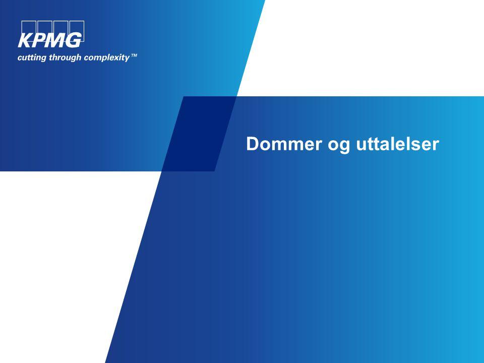 Dommer og uttalelser Halliburton AS vs Staten – reisekostnader for offshoreansatte. Dom i Stavanger Tingrett, februar 2010.