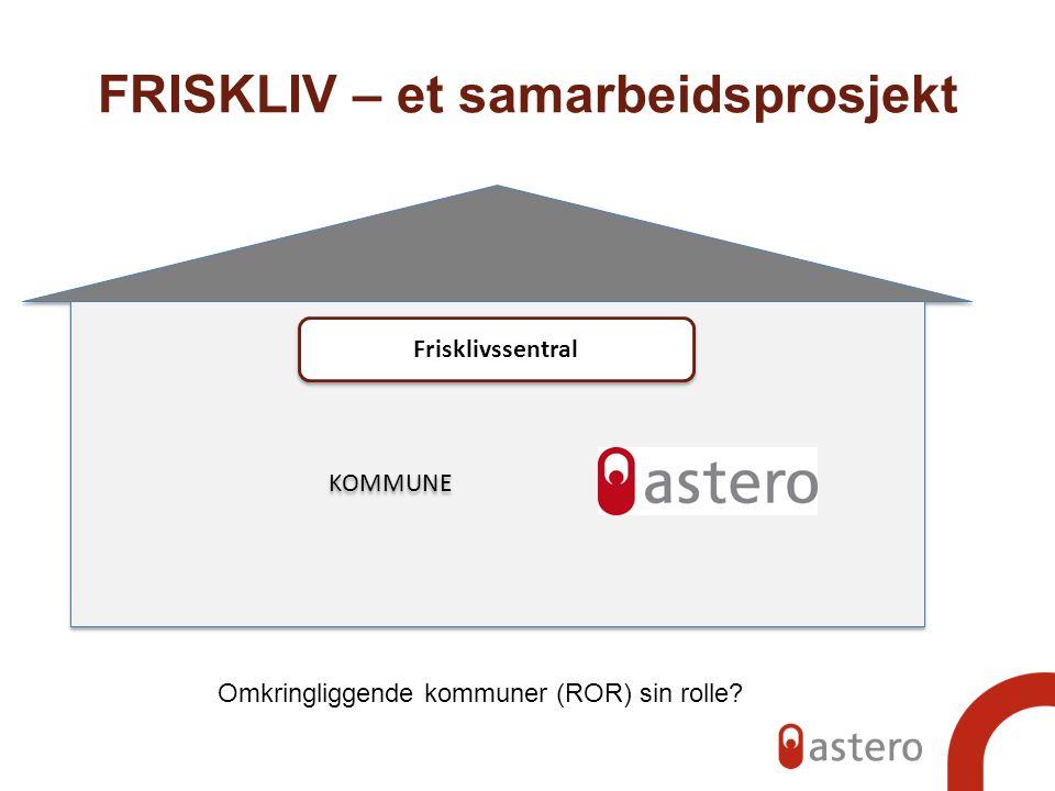 FRISKLIV – et samarbeidsprosjekt