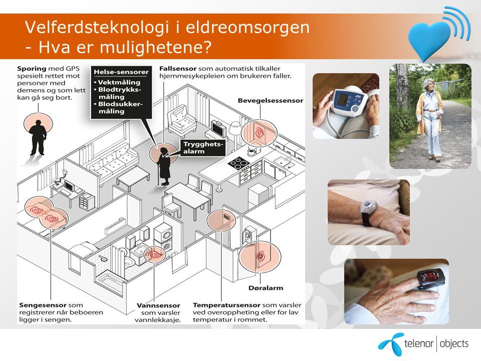 Velferdsteknologi i eldreomsorgen - Hva er mulighetene