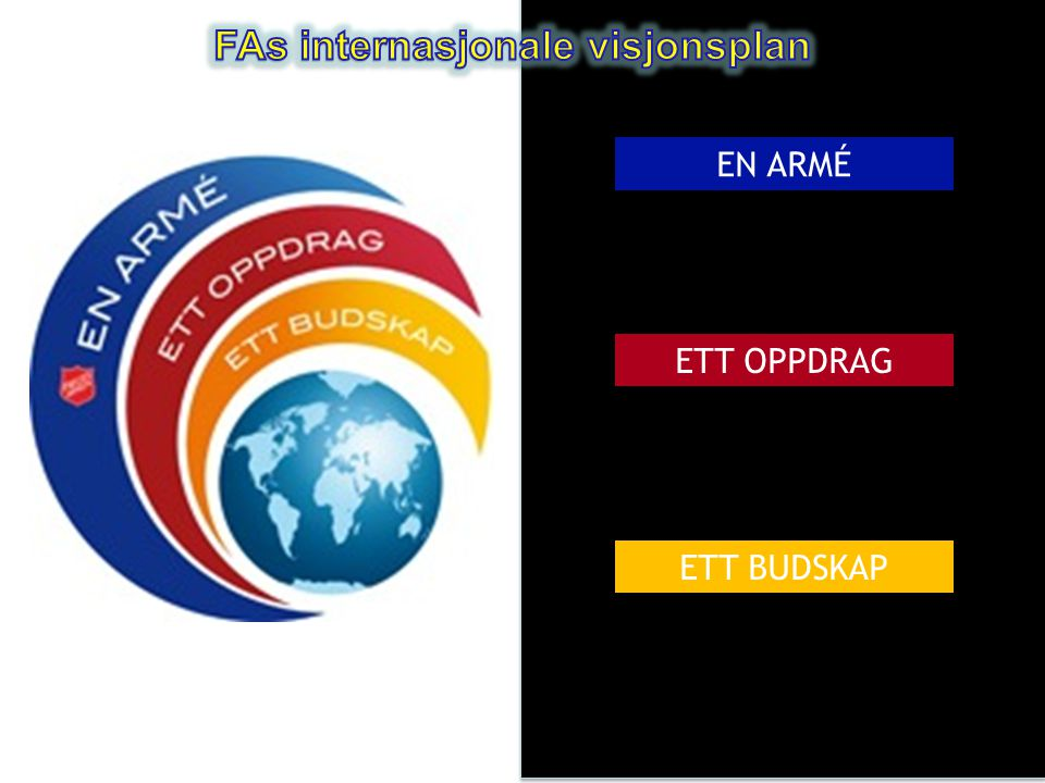 FAs internasjonale visjonsplan