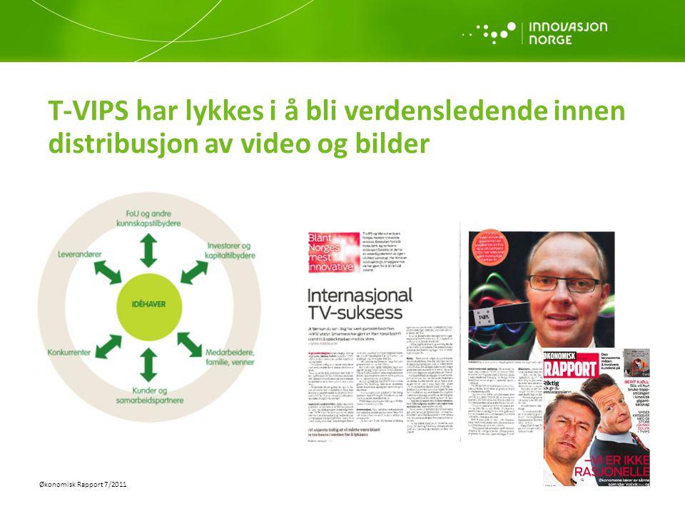 T-VIPS har lykkes i å bli verdensledende innen distribusjon av video og bilder