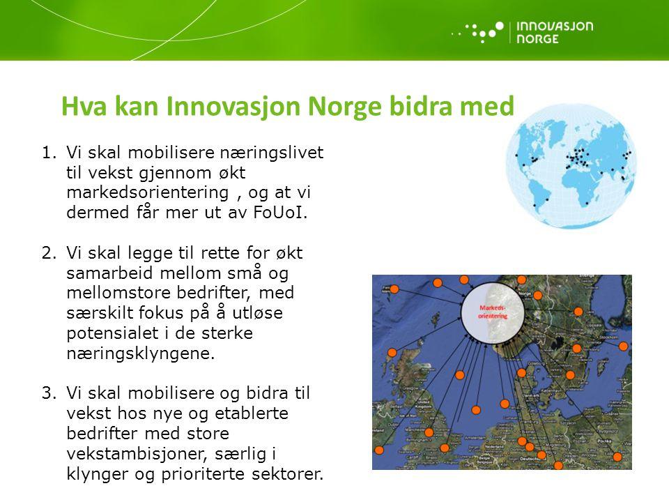Hva kan Innovasjon Norge bidra med