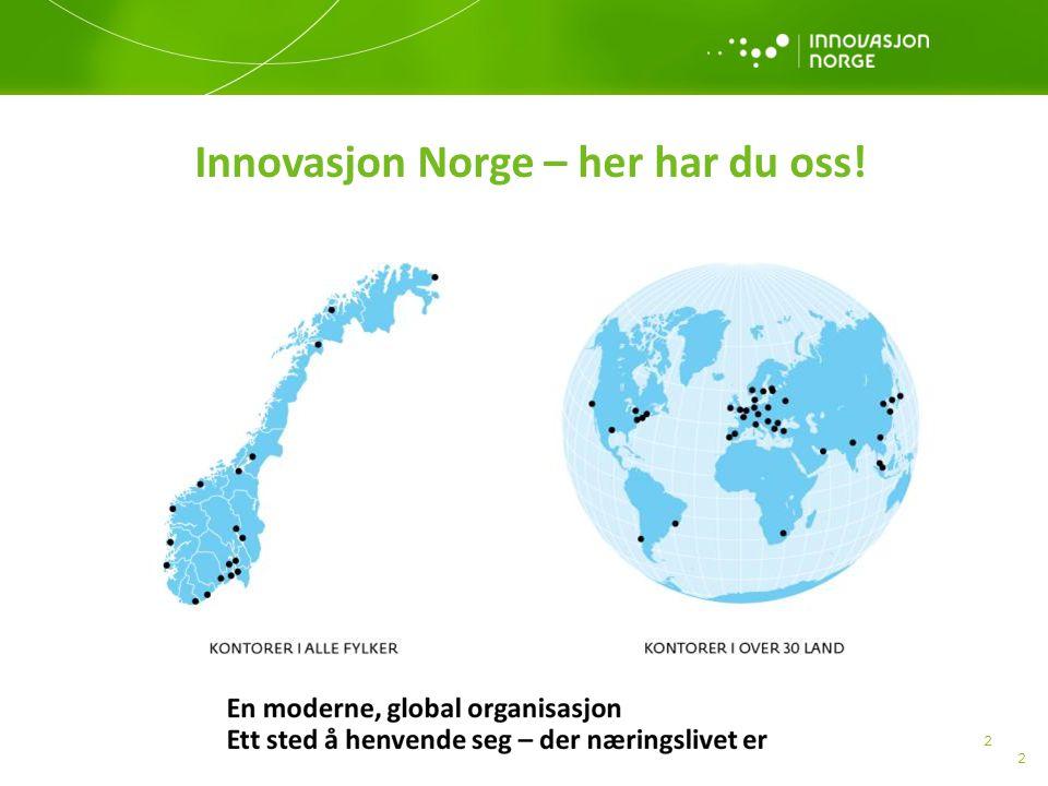 Innovasjon Norge – her har du oss!