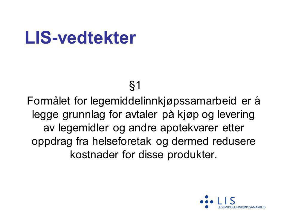 LIS-vedtekter §1.