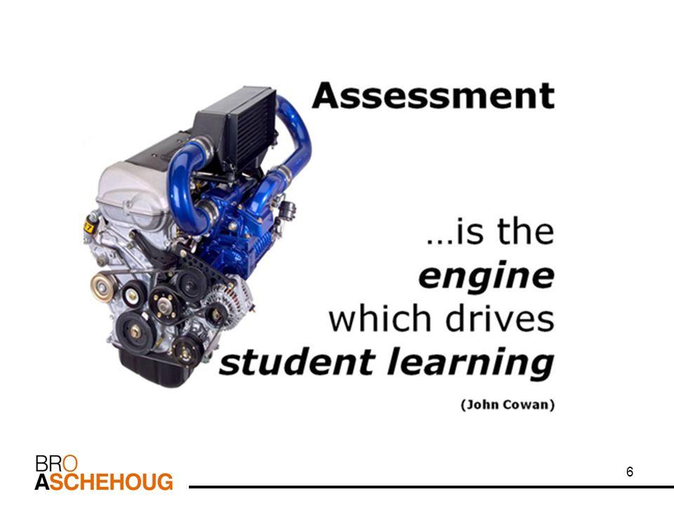 - the black box De 5 store prinsippene. Det å sørge for effektiv tilbakemelding til eleven.