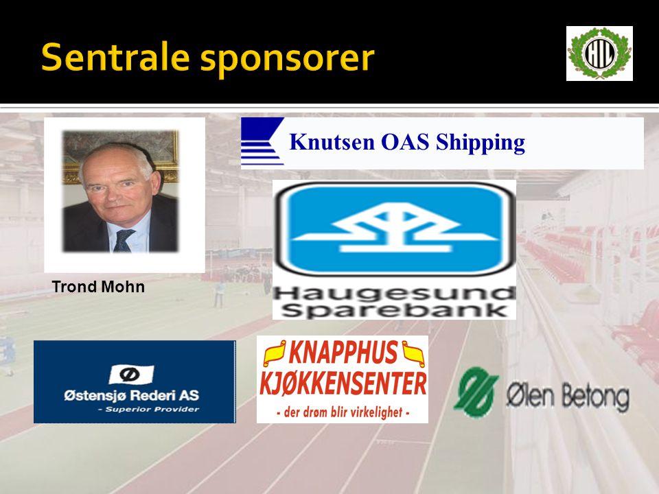 Sentrale sponsorer Knutsen OAS Shipping Trond Mohn