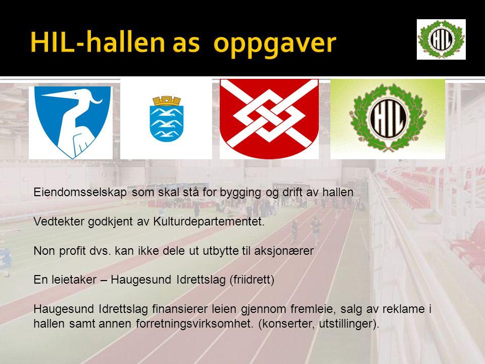 HIL-hallen as oppgaver