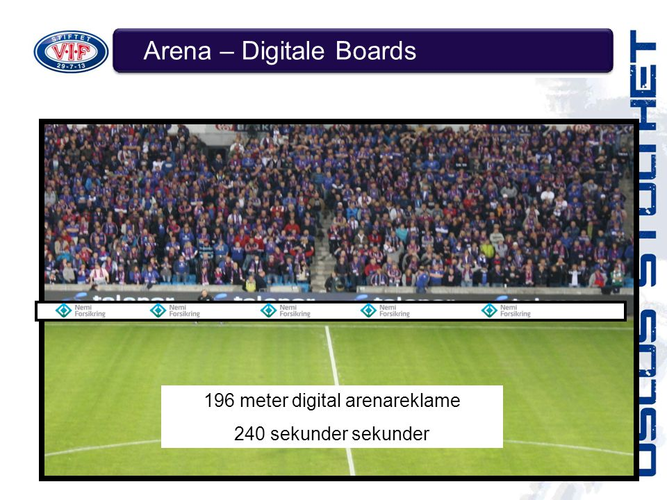 Arena – Digitale Boards