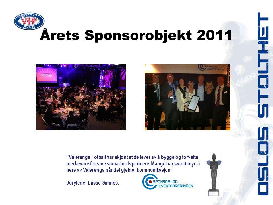 Årets Sponsorobjekt 2011