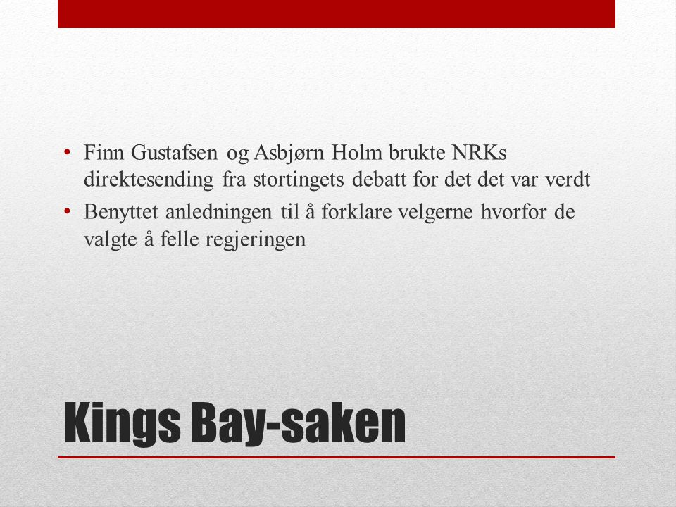 Finn Gustafsen og Asbjørn Holm brukte NRKs direktesending fra stortingets debatt for det det var verdt