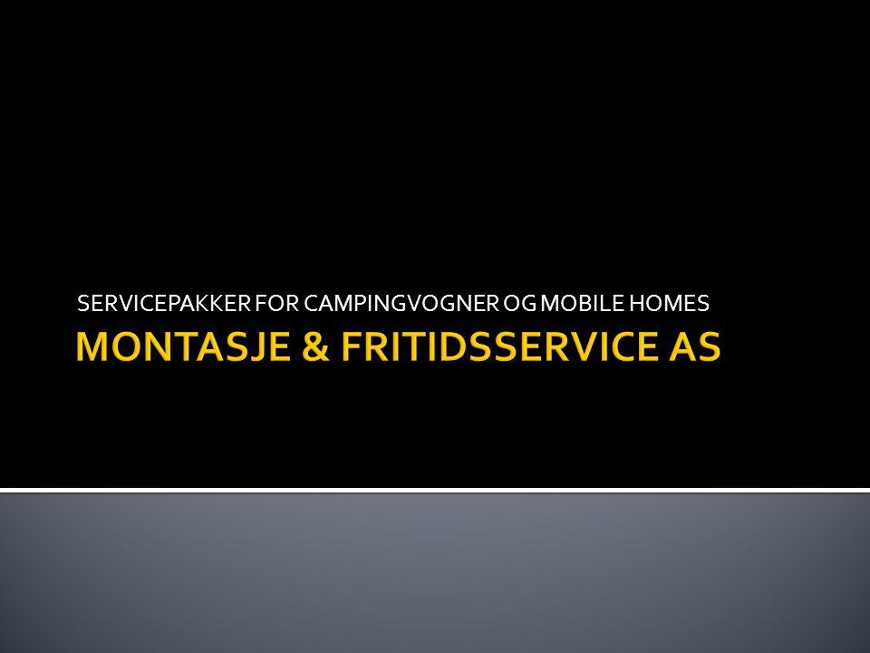 MONTASJE & FRITIDSSERVICE AS