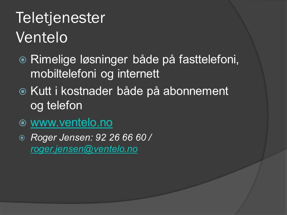 Teletjenester Ventelo