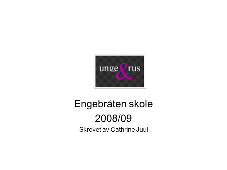 Engebråten skole 2008/09 Skrevet av Cathrine Juul