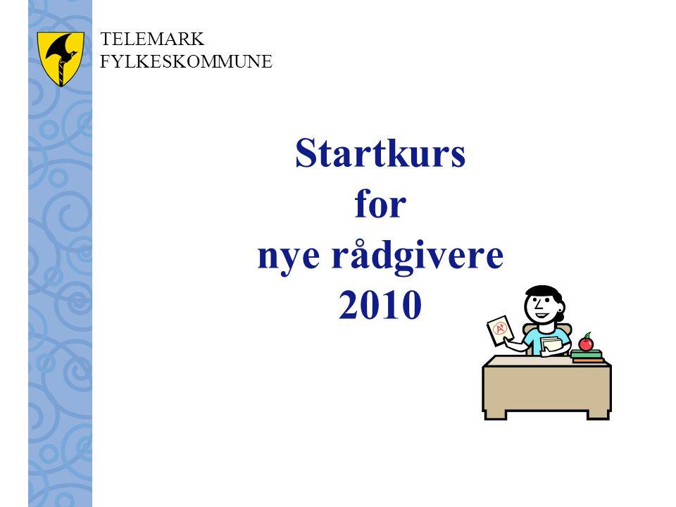 Startkurs for nye rådgivere 2010