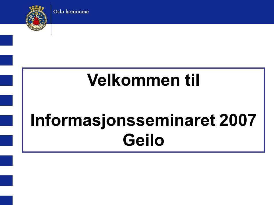 Informasjonsseminaret 2007