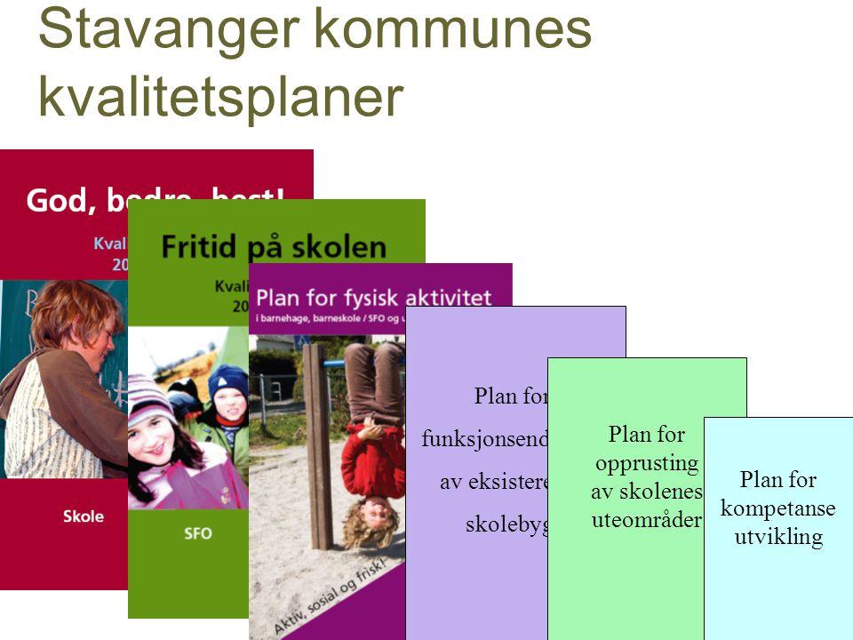 Stavanger kommunes kvalitetsplaner
