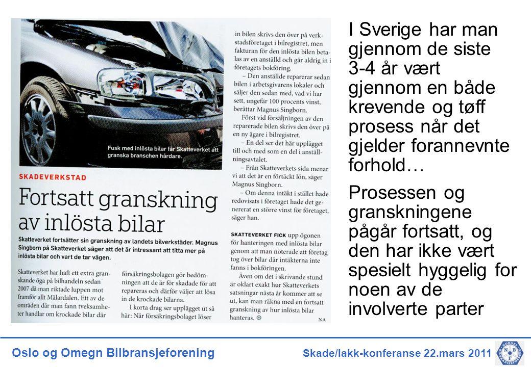 I Sverige har man gjennom de siste 3-4 år vært gjennom en både krevende og tøff prosess når det gjelder forannevnte forhold…