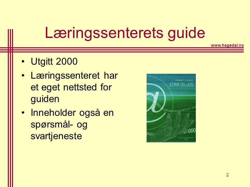 Læringssenterets guide