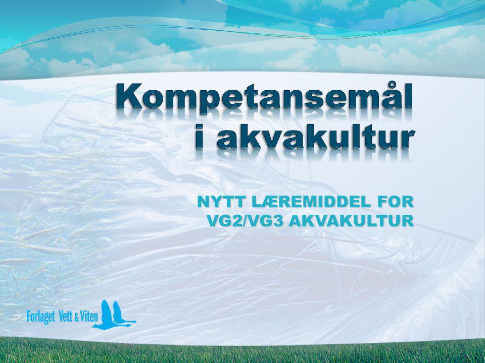 Kompetansemål i akvakultur