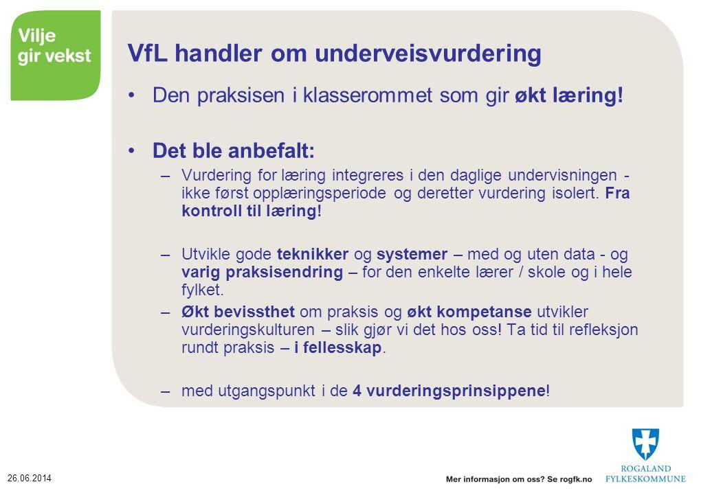 VfL handler om underveisvurdering