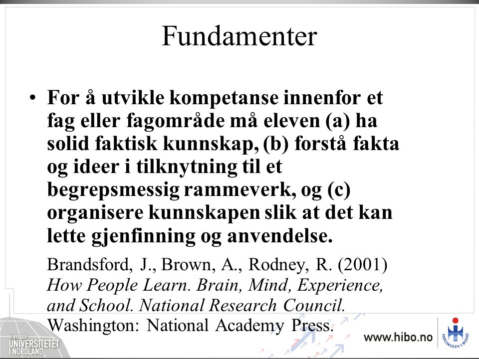 Fundamenter