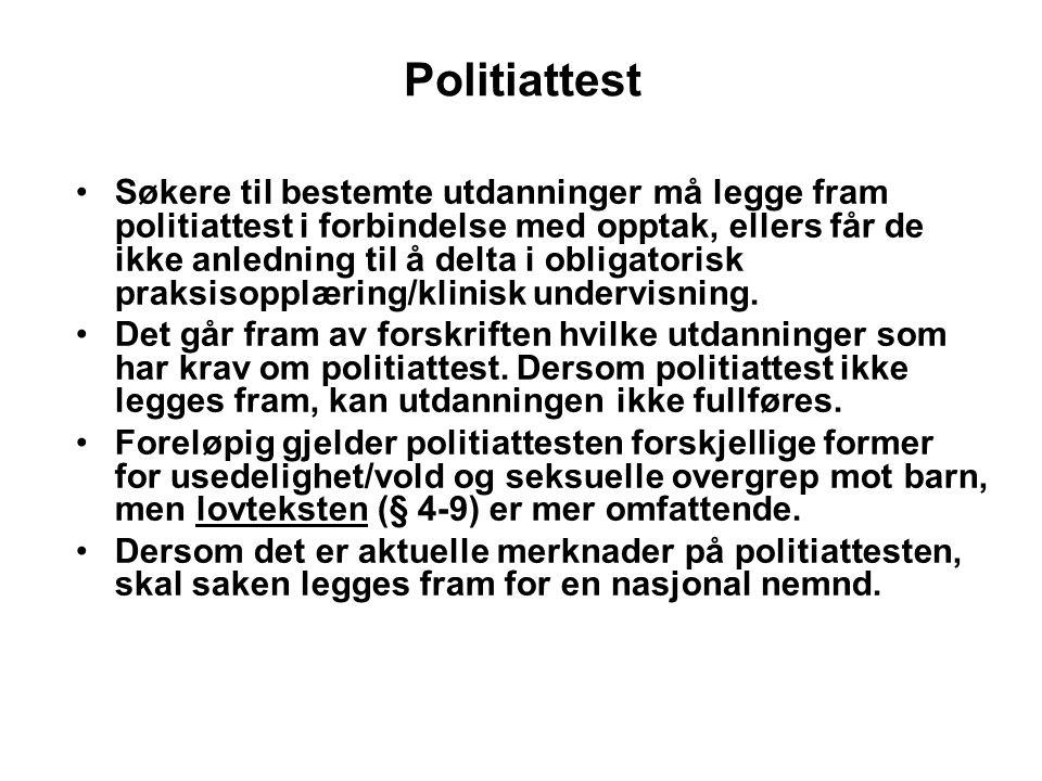 Politiattest