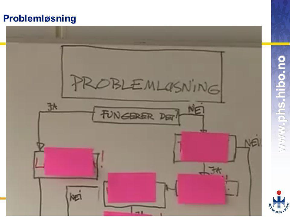 Problemløsning Profesjonshøgskolen