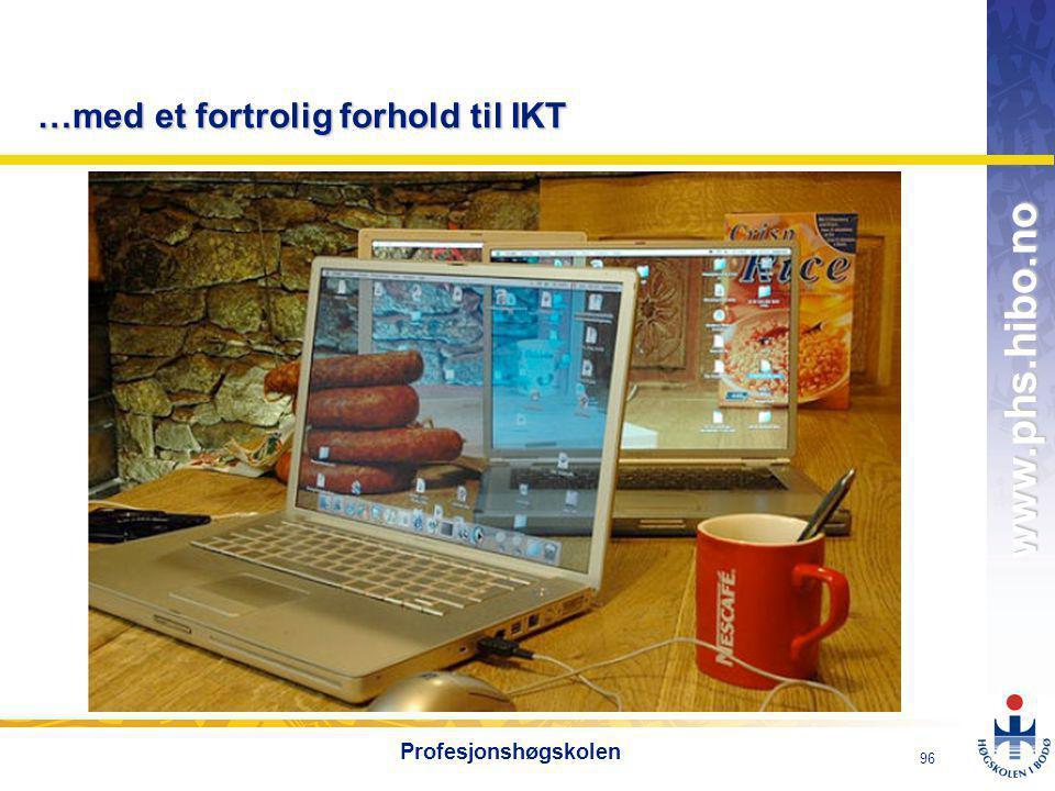 …med et fortrolig forhold til IKT