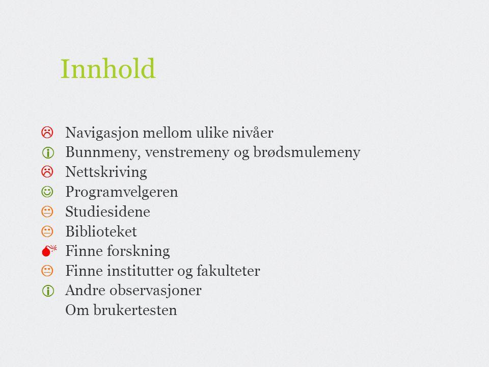 Innhold