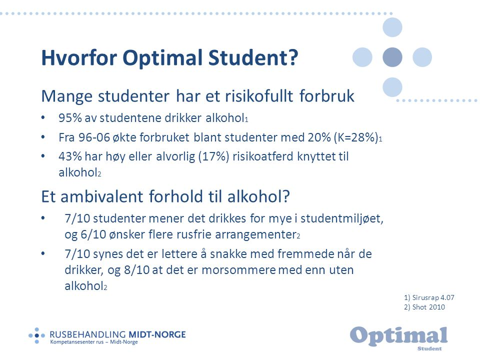 Hvorfor Optimal Student
