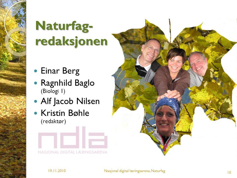 Naturfag-redaksjonen