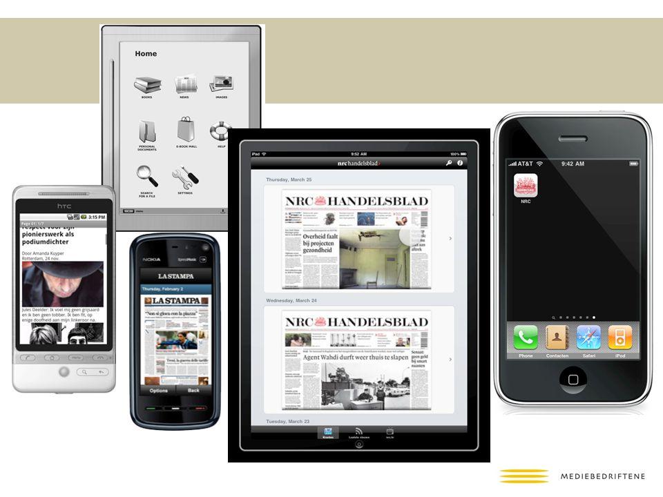 Både e-readers, Android, iPhone og iPad versjoner ble laget.