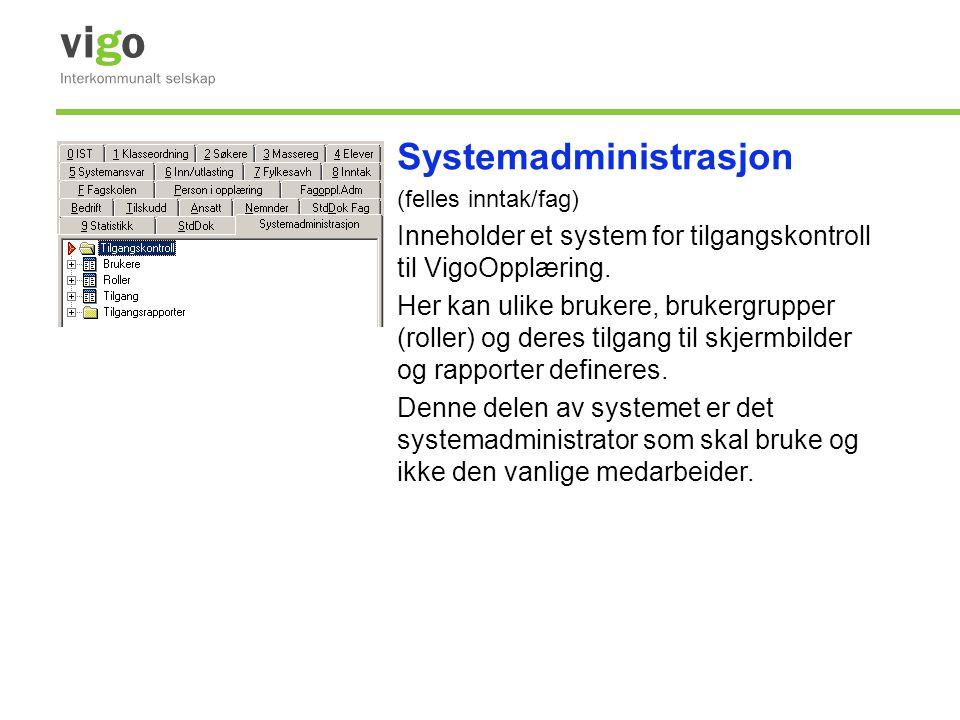 Systemadministrasjon