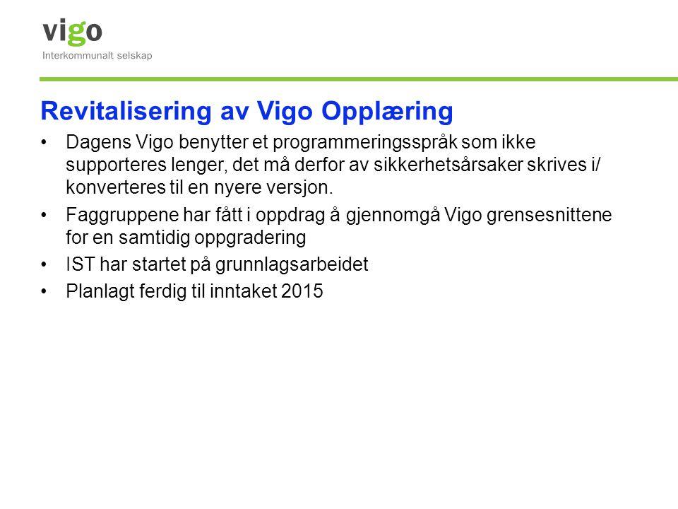 Revitalisering av Vigo Opplæring
