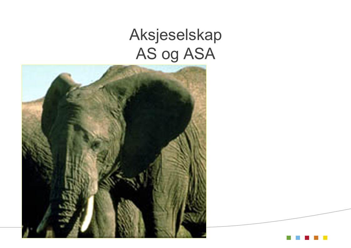 Aksjeselskap AS og ASA