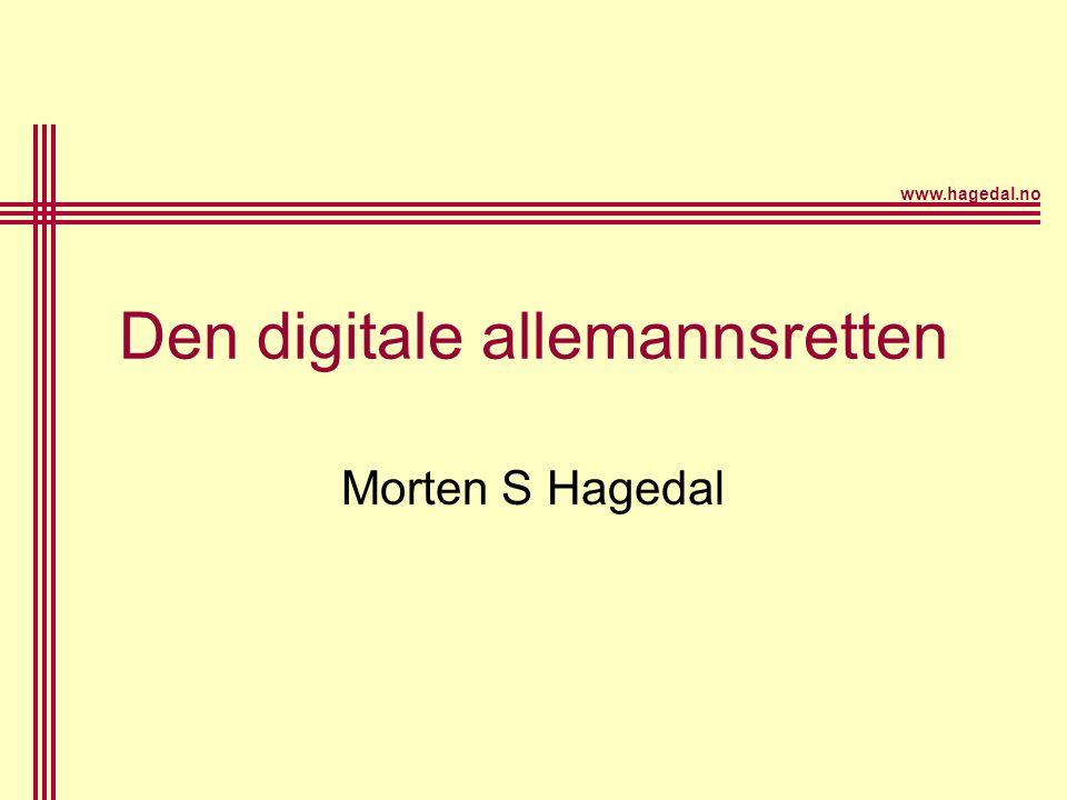 Den digitale allemannsretten