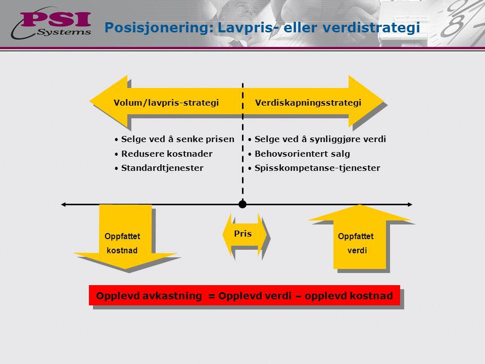Posisjonering: Lavpris- eller verdistrategi