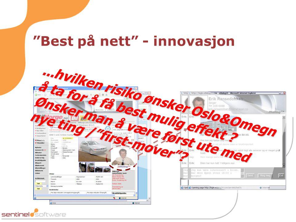 Best på nett - innovasjon