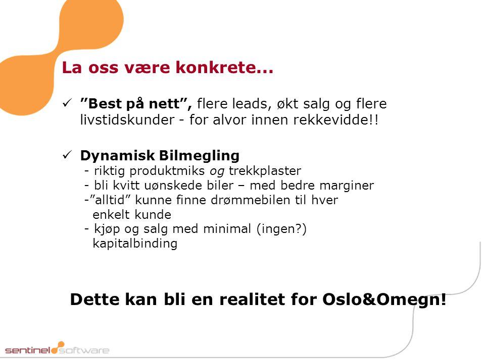 Dette kan bli en realitet for Oslo&Omegn!