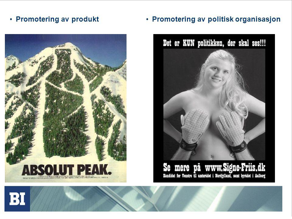 Promotering av produkt
