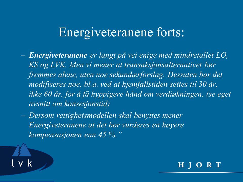 Energiveteranene forts: