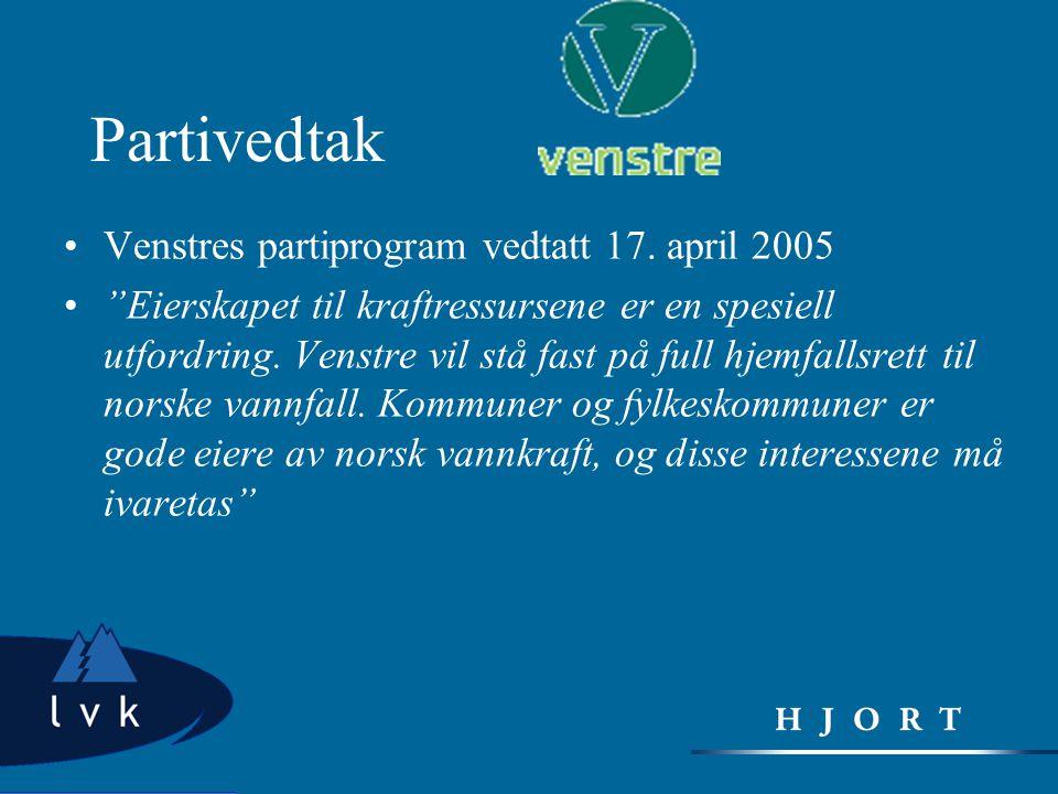 Partivedtak Venstres partiprogram vedtatt 17. april 2005