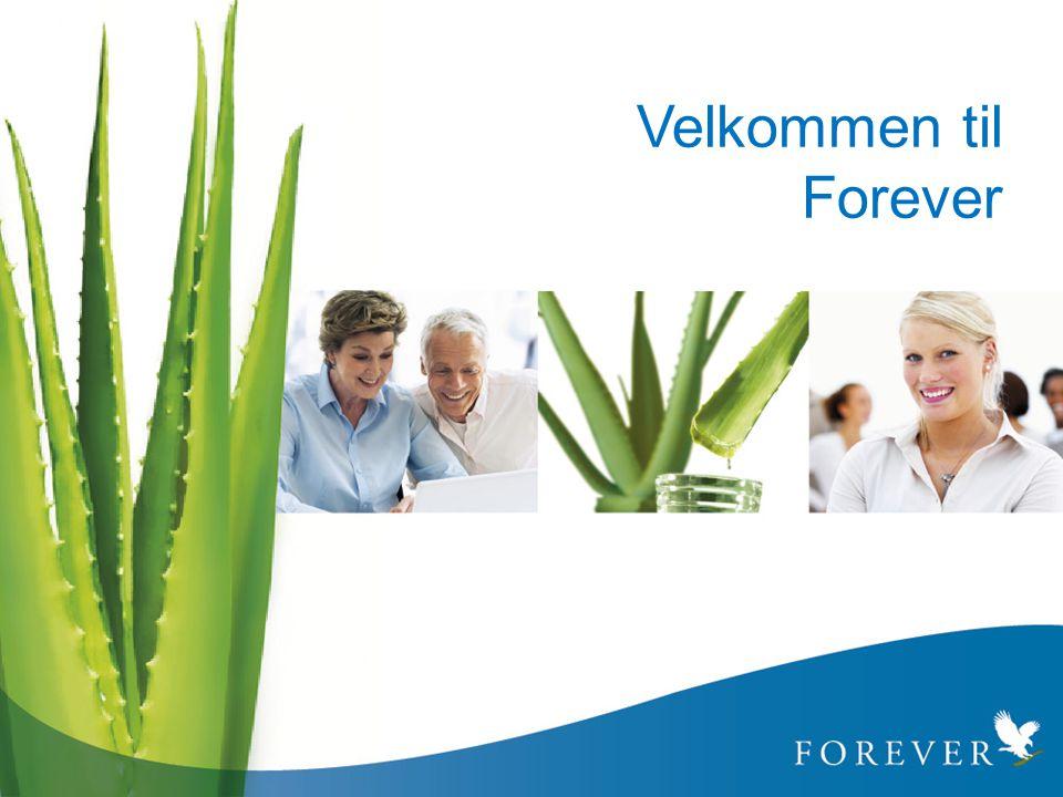 Velkommen til Forever 1. Velkommen til Forever Living Products forretningspresentasjon.