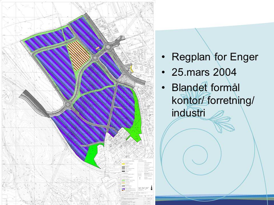 Regplan for Enger 25.mars 2004 Blandet formål kontor/ forretning/ industri